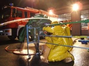 Gefahrgutgruppe - Übungsdienst mit CSA